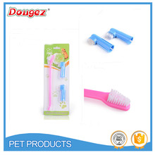 2015 New Four Pieces Of Toothbrush Grooming Clean Of Pet Dog Hot Sale