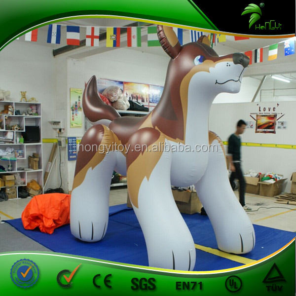 New Design 2m Brown PVC Inflatable Wolf Cheap Price