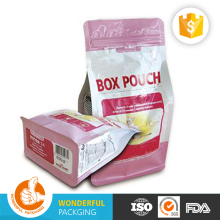 Printing plastic tea packaging bags arabica green coffee beans with aluminum foil