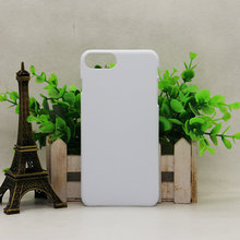 High quality korean cell phone case for Iphone Blank mobile case with 3D sublimation 3D hard Plastic