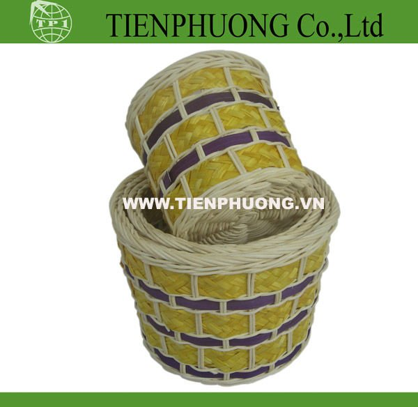 Vietnam natural rattan basket