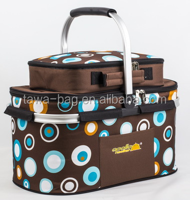 4 person classic custom collapsible picnic basket