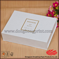 Custom elegant a4 size paper box makeup gift box for brush packaging