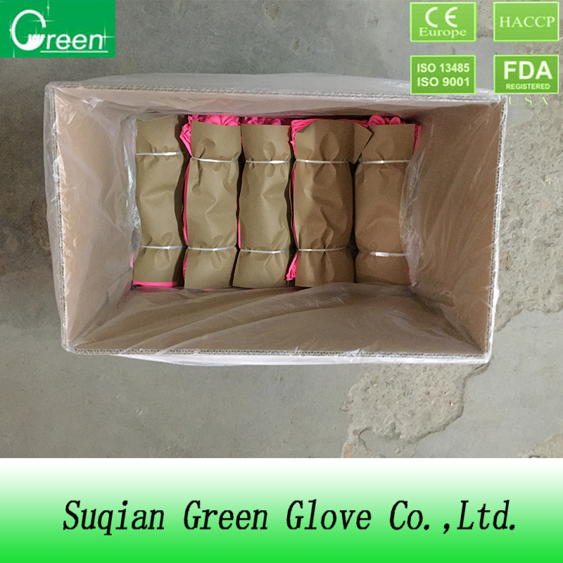 pvc colorful household gloves