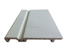 Popular floor accessories plastic wooden wpc skirting ,pvc indoor skirting board