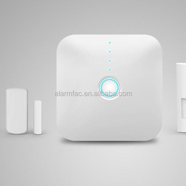 Zigbee smart home alarm wireless control, zigbee home automation , domotic system with zigbee