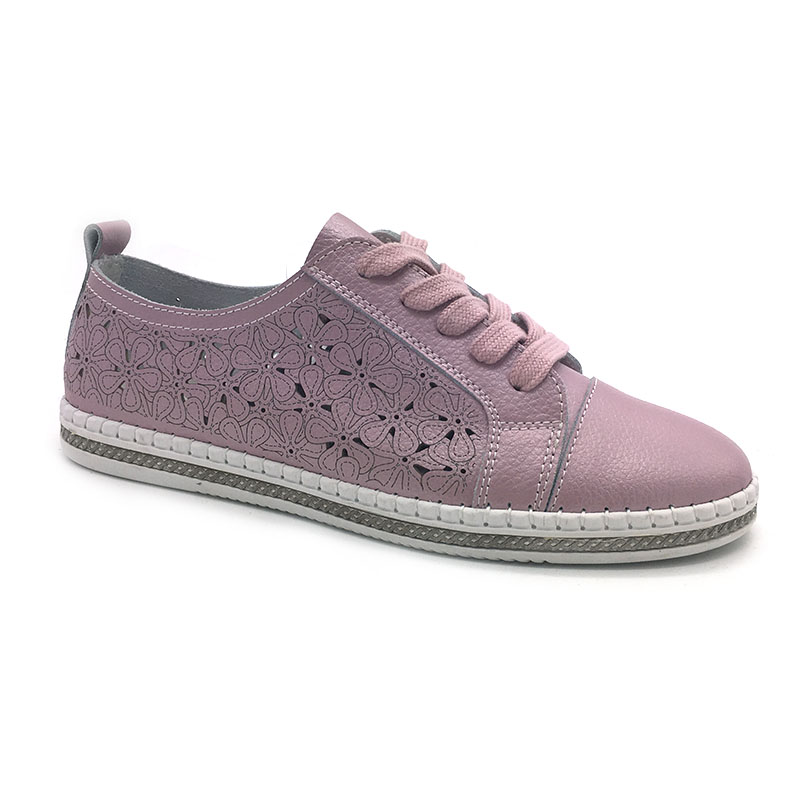 Multicolor Handmade lace up no brand sneakers women laser casual shoes