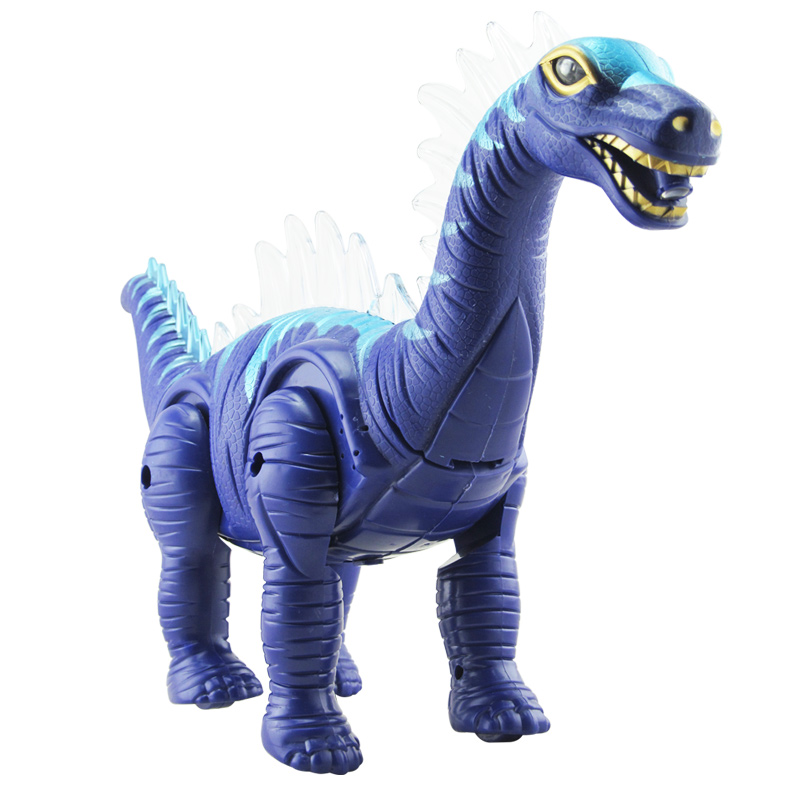 Plastic moving promotional cartoon battery operated dinosaur toys