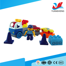 best selling products plastic assembly car toy kids brick game for early learning