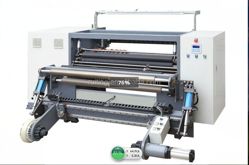 RTFQ-1500BC web foil sticker label slitting machine