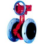 Hot sale Pratical Multifunction Flexible Butterfly Valve