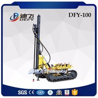 DFY-100 Air operated rock quarry drilling equipment