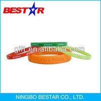 Single Color fancy silicon bracelet