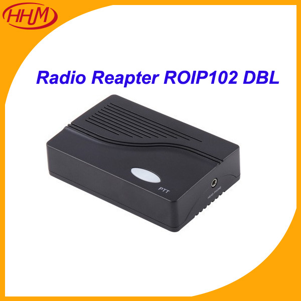 With 1 PTT port--RoIP102(Radio over IP) for voice communication/gateway network device