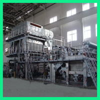 100% pulp as raw material for toilet paper,paper glass making machine