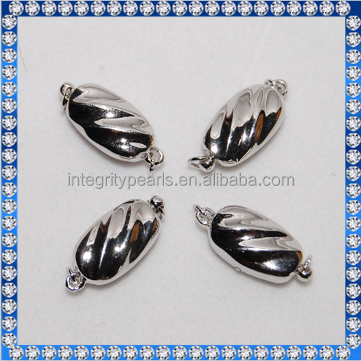 925 sterling silver clasp for jewelry