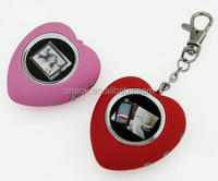 Christmas gifts photo frames keychain digital photo frame keyring