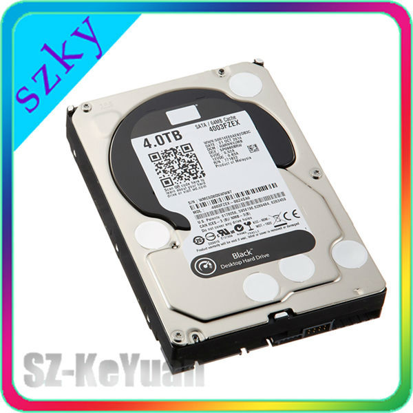 Latest SATA 3.5'' internal 4tb hard drive, computer hard disk,64MB Buffer,Purple