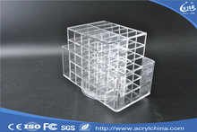 acrylic lipstick display with lid clear acrylic lipstick holder with hinged lid acrylic cosmetic box