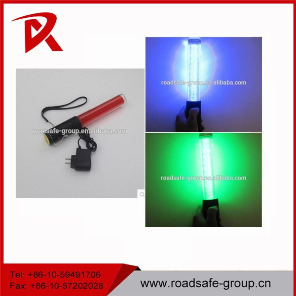 Road safety 26cm rechargeable traffic police baton