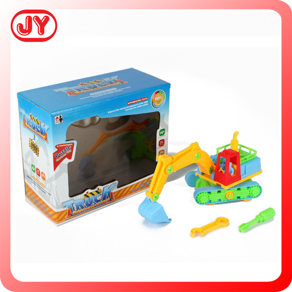 Children education item for kids assembling toys truck play set with EN71