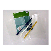 Office Presentation document a4 clear pp plastic sliding bar file folder with paper insert customized