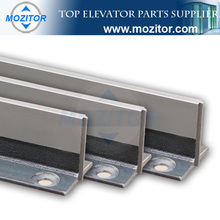 elevator parts factory|T70-1/B Machined Guide Rail|korean hyundai spare parts