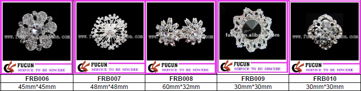 fashion style crown diamond brooch for party decoration