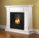 "48"" Boston Freestanding MDF Fireplace Mantel Surround LED Electric Fireplace with Remote"