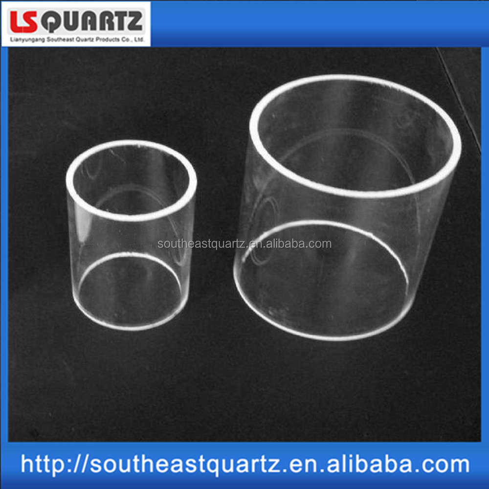 China manufacture high-temperature quartz glass tube for sale with factory price