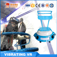 2016 TOP SALE!!! No need installation small space virtual reailty 9D VR Vibrator simulator