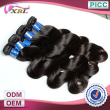 XBL Hot Sale Human Hair Weft Direct Factory Price 6a 100% Peruvian Hair Body Wave