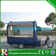 New model used food carts for sale food warmer cart with wheels electric mobile food carts