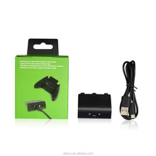 Rechargeable battery play kit for xbox one wireless controller