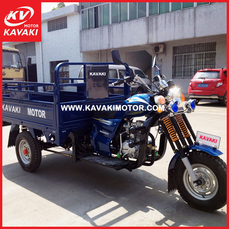New design gasoline cargo vehicles high quality tekerlekli 3 wheel auto automobile for sale Africa