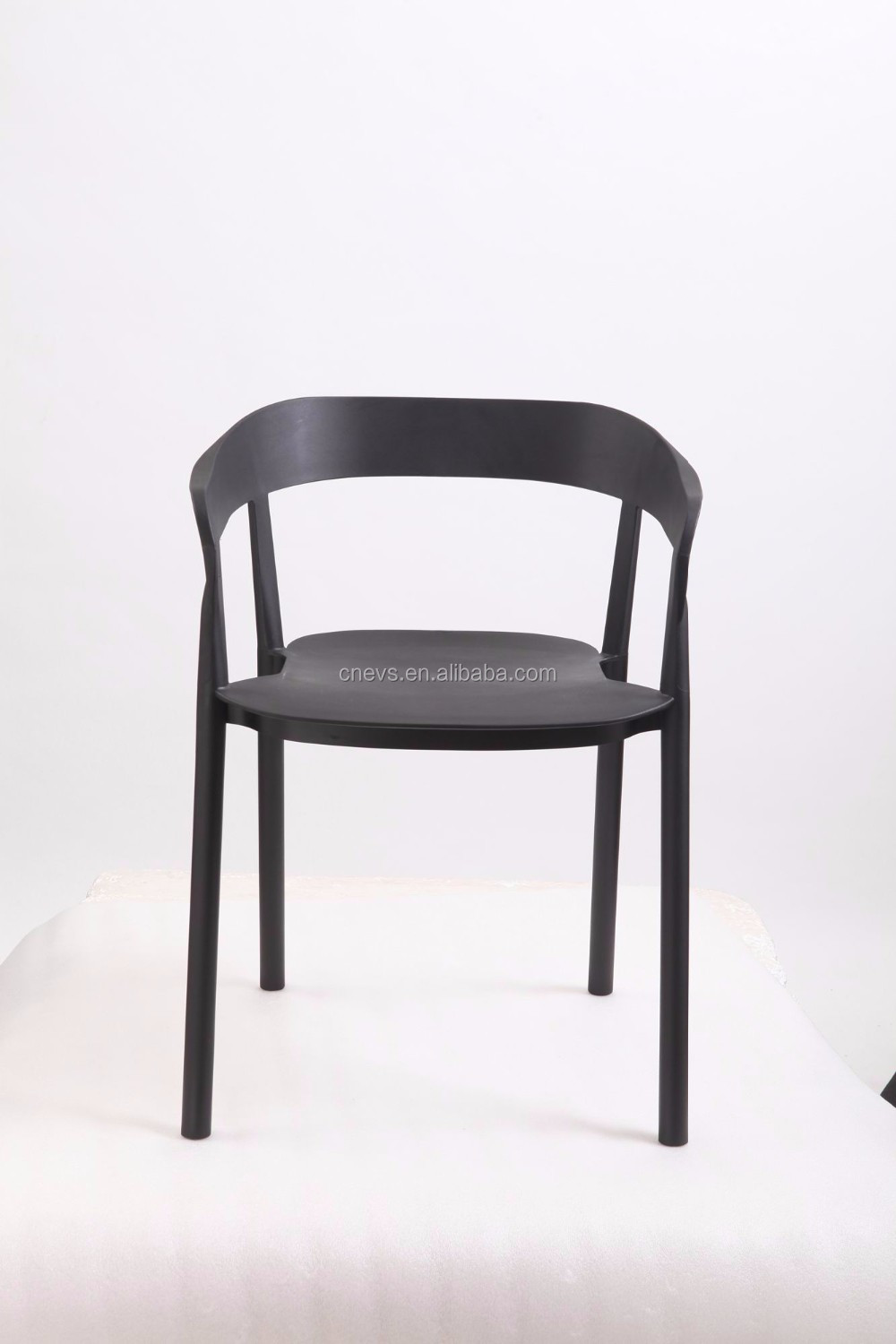 Popular High Quality High Plastic Leisure Chair Dining Chair