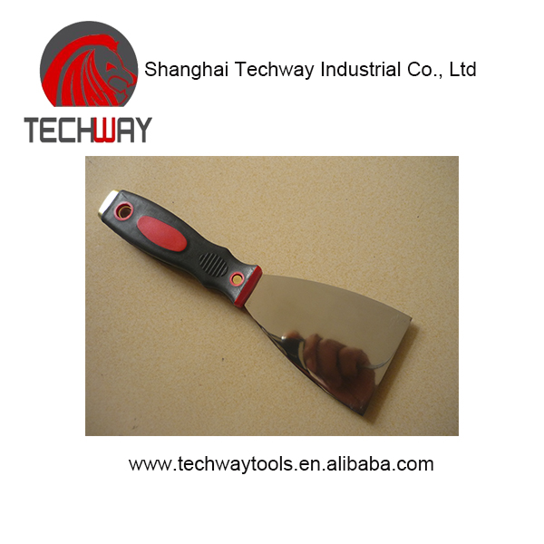 Good quality wooden handle Stainless Steel Paint Scraper Putty Knife