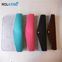 snap type felt tablet sleeve