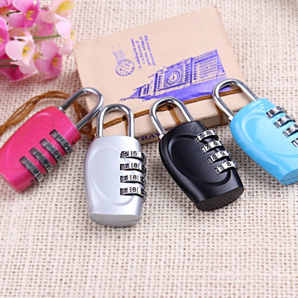 CH-15H zinc alloy door lock gym lock 4 digit combination lock