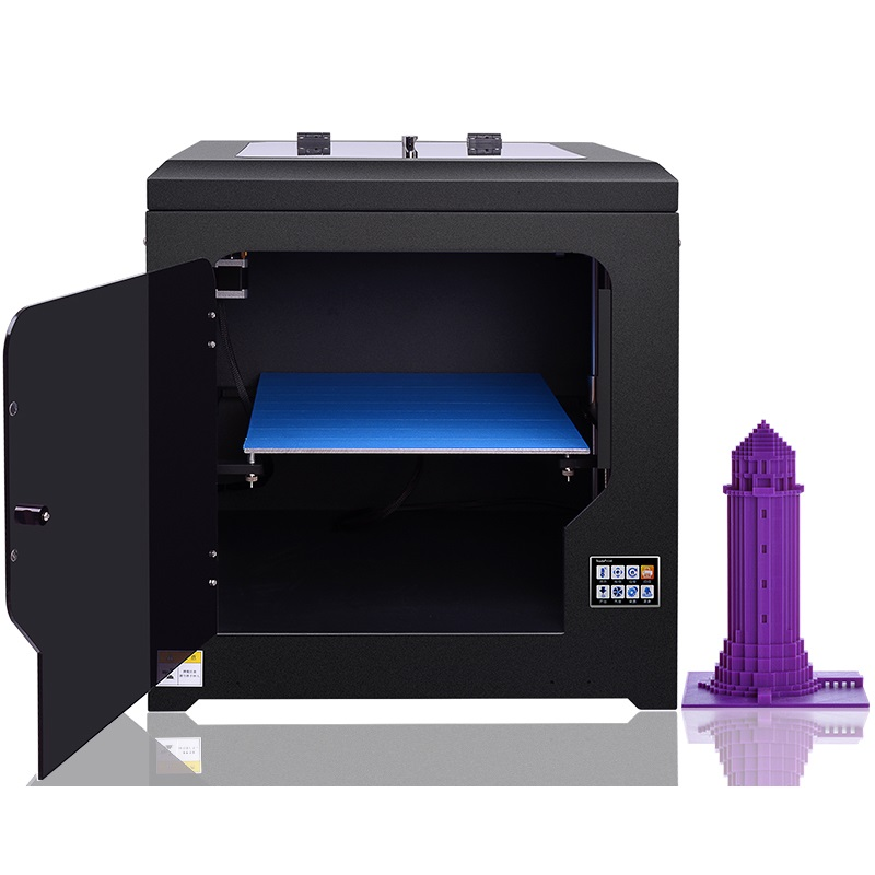 Color Touch Screen Digital 3D Printing Machine ET-168 Compatible with 3D Scanner