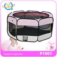 Foldable pet house playpen pet products for dog exercise