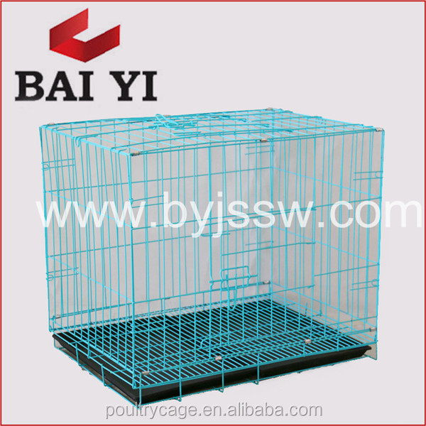 Factory Direct Cheap Folding Modular Welding Wire Mesh Dog Cage With Dog Cage Hinge