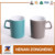 Ceramic special handle tea cups pottery stoneware mugs wholesale