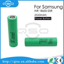 Samsung 25R lithium battery packs li ion battery rechargeable button cell