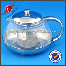 600ml Stainless Steel Tai Ji Tea Kettle