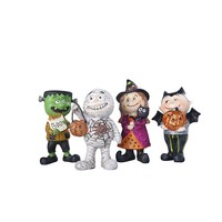 Best sale 10cm high quality unique small cute resin halloween decorations for children gifts