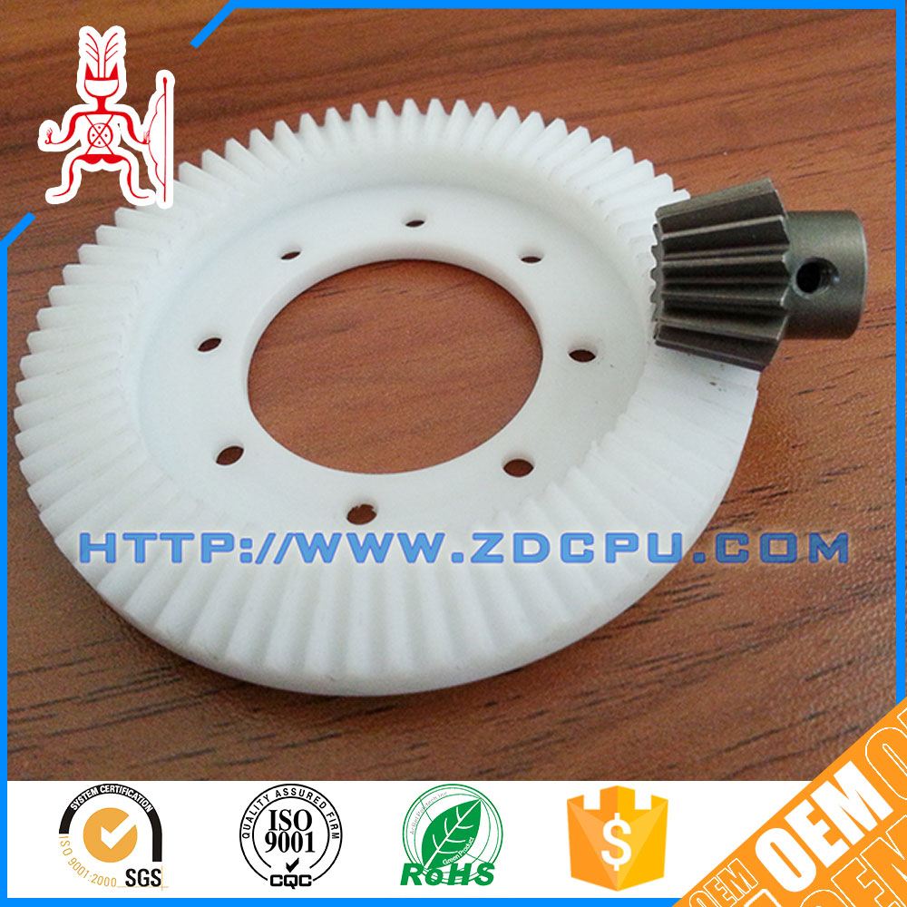 CNC machining non-toxicity metal gear wheel