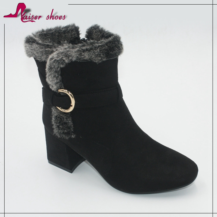 latest design women winter boots shoes ladies warm ankle snow boots