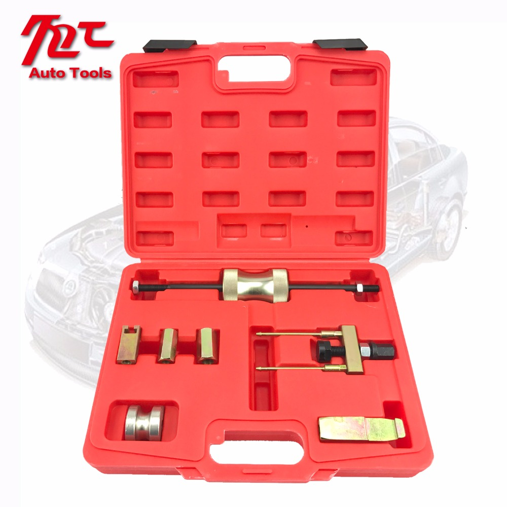 7 pcs VAG TDI diesel injector puller set engine injector removal tool garage tool kit