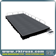 RK wedding cheap portable stage/truss staging system